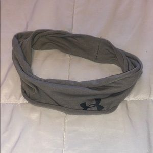 Under armor gray headband